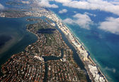 Florida coastline — Stock Photo