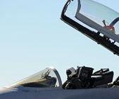 Military pilot — Stock Photo