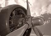 Old propeller — Stock Photo
