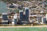 Miami waterfront — Stock Photo