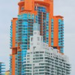 Modern hi rise apartment building - Foto de Stock