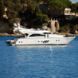 Yacht on French Riviera — Stock Photo #11629999