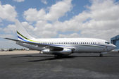 Jet airplane — Стоковое фото