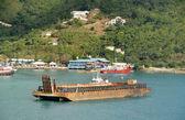 加勒比港口 — 图库照片