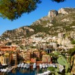 Scenic view of beautiful harbor in Monte Carlo, France — Stock Photo