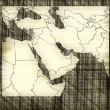 Royalty-Free Stock Photo: Sketch of middle east map