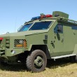 Armored police vehicle — Stock Photo
