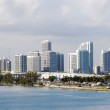 Miami skyline — Stock Photo