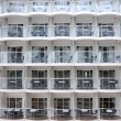 Wall full of balconies — Stock Photo