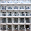 Wall full of balconies - Stock fotografie