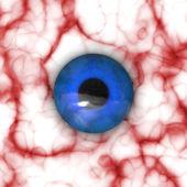 Blodsprängt öga — Stockfoto