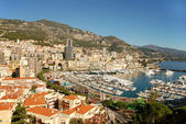 Panoramic view of Nice and Monte Carlo — Stock Photo