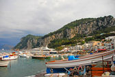 Isle of Capri marina — Stock Photo