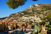 Doğal görünümü güzel liman monte carlo, fransa — Stok fotoğraf
