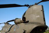 Transportní vrtulník — Stock fotografie