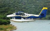 Seaplane taking off — Foto de Stock