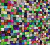 Kleurrijke artistieke tegel — Stockfoto