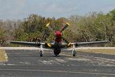 Ancien avion de chasse — Photo