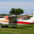 Stock Photo: Light hobby aircraft