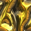 Stock Photo: Melting gold