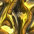 Royalty-Free Stock Photo: Melting gold
