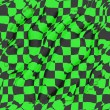 Green And Black Checkered Background - Stock Photo