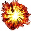 Fiery explosion — Stock Photo #11644496