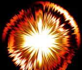 明亮的爆炸爆裂 — 图库照片