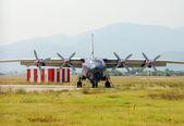 самолет ан-12 — Стоковое фото