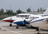 Small airplanes — Stock Photo