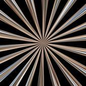 Metazllic potrubí — Stock fotografie