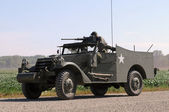 Old armored vehicle — Stock Photo