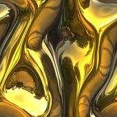 Melting gold — Stock Photo