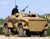 Armored car — Foto de Stock
