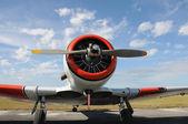 Old airplane — Zdjęcie stockowe