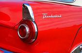 Antique car fin — Stock Photo