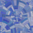 Stock Photo: Blue tiles