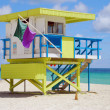 Lifeguard tower — Stock Photo #11651085