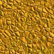 Gold colored mineral rock — Stock Photo #11654095