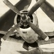 Stock Photo: World War Ii erNavy fighter