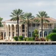 Foto de Stock  : Luxury Waterfront Property