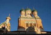 Church domes — Stock Photo