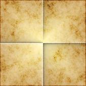Unfolded parchment paper — Stock Photo