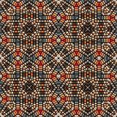 Native American bead art — Photo