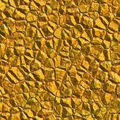 Gold colored mineral rock — Stockfoto