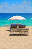 Sedie da spiaggia — Foto Stock