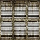 Old metal wall — Stock Photo