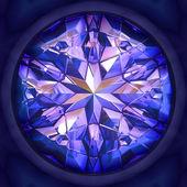 синий камень — Стоковое фото