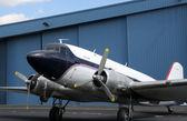 Oude vliegtuig — Stockfoto