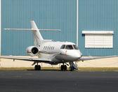 Charter jet — Stock Photo